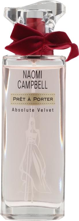 Naomi Campbell Pret a Porter Absolute Velvet - Apă de parfum — Imagine N3