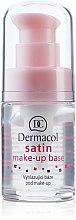 Parfumuri și produse cosmetice Bază de machiaj matifiantă cu efect de nivelare - Dermacol Satin Base Make-Up