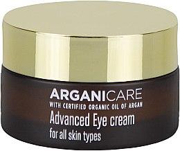 Parfumuri și produse cosmetice Cremă pentru zona ochilor cu efect de netezire - Arganicare Shea Butter Advanced Eye Cream