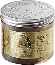 Parfumuri și produse cosmetice Săpun natural de olive - Organique Savon Noir Cleaning&Softening