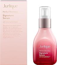 Parfumuri și produse cosmetice Ser regenerant cu efect de întinerire pentru față - Jurlique Herbal Recovery Signature Serum