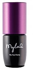 Parfumuri și produse cosmetice Top coat pentru gel-lac - MylaQ My Top Matte