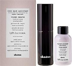 Parfumuri și produse cosmetice Set - Davines Your Hair Assistant Duo Pack (hair/powder/9g + brush/1st)