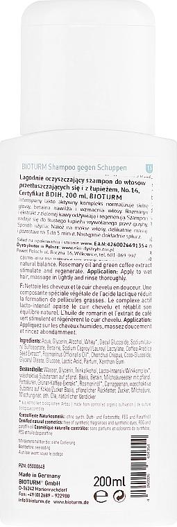 Șampon anti-mătreață - Bioturm Anti-Dandruff Shampoo Nr.16 — Imagine N2