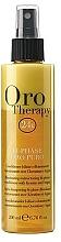 Parfumuri și produse cosmetice Balsam- spray regenerant bifazic cu cheratină - Fanola Oro Therapy