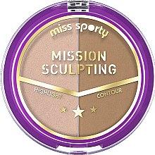 Parfumuri și produse cosmetice Paleta de contur - Miss Sporty Mission Sculpting
