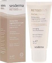 Parfumuri și produse cosmetice Cremă antirid regenerantă pentru piele matură - SesDerma Laboratories Retises 0.25% Antiwrinkle Regenerative Cream