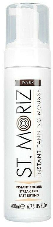 Мусс-автозагар для тела - St. Moriz Instant Tanning Mousse Dark — фото N1