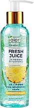 Духи, Парфюмерия, косметика Gel micelar pentru curățarea feței - Bielenda Fresh Juice Micellar Gel Pineapple