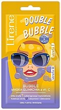 Parfumuri și produse cosmetice Bubble-mască cu argilă cu Vitamina C - Lirene Double Bubble Mask