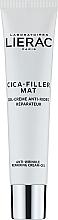 Parfumuri și produse cosmetice Cremă anti-îmbătrânire pentru față - Lierac Cica-Filler Mat Anti-Wrinkle Repairing Cream-Gel