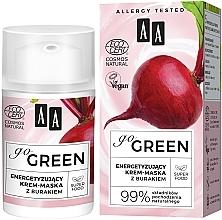 Parfumuri și produse cosmetice Mască pe bază de extract de sfeclă pentru față - AA Go Green