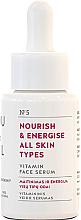 Parfumuri și produse cosmetice Ser nutritiv pentru toate tipurile de ten - You & Oil Vitamin Nourish & Energise Serum