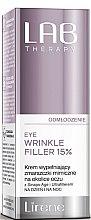 Parfumuri și produse cosmetice Filler pentru față - Lirene Lab Therapy Anti Ageing Eye Cream Eye Wrinkle Filler 15%