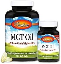Parfumuri și produse cosmetice Set - Carlson Labs MCT Oil (gel/120szt + gel/30szt)