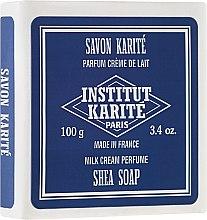 "Săpun ""Milk Cream"" - Institut Karite Milk Cream Shea Soap — Imagine N1"