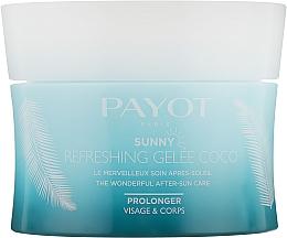 Parfumuri și produse cosmetice Gel revigorant pentru corp  - Payot Sunny Payot Refreshing Jelly Coco After-Sun Care