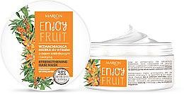 Parfumuri și produse cosmetice Mască cu ulei de cătină pentru păr - Marion Enjoy Fruit Strengthening Hair Mask