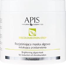 Parfumuri și produse cosmetice Mască de față împotriva petelor pigmentare - APIS Professional Discolouration-Stop Brightening Algae Mask For Reduction of Discolouration