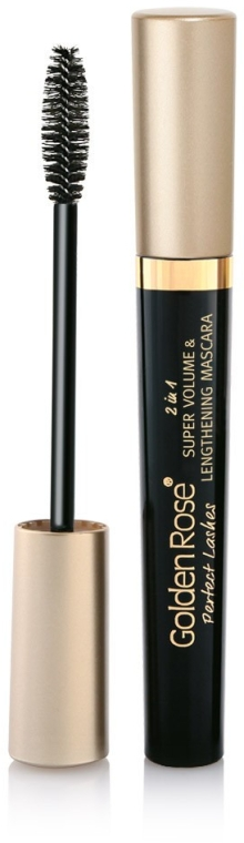 Rimel - Golden Rose Perfect Lashes 2in1 Super Volume&Lengthening Mascara
