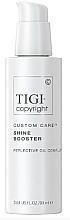 Parfumuri și produse cosmetice Крем-бустер для волос, усиливающий блеск - Tigi Copyright Custom Care Shine Booster