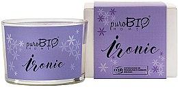Parfumuri și produse cosmetice Lumânare organică - PuroBio Cosmetics Home Organic Ironic