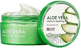 Parfumuri și produse cosmetice Gel hidratant cu aloe vera pentru față și corp - SNP Intensive Snail Soothing Gel