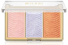 Parfumuri și produse cosmetice Paletă iluminatoare pentru față - Milani Stellar Lights Highlighter Palatte