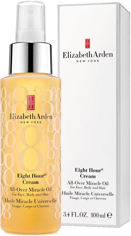 Ulei de păr - Elizabeth Arden Eight Hour Cream All-Over Miracle Oil — Imagine N1