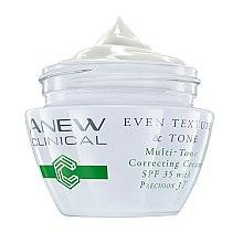 Parfumuri și produse cosmetice Cremă de față SPF 35 - Avon Anew Clinical Even Texture & Tone Multi-Tone Correcting Cream SPF 35