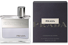 Parfumuri și produse cosmetice Prada Amber Pour Homme - Apa de toaletă