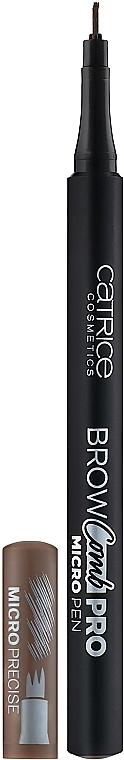Creion marker pentru sprâncene - Catrice Brow Comb Pro Micro Pen