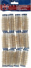 Parfumuri și produse cosmetice Bigudiuri 21/63 mm, albastre - Ronney Wire Curlers