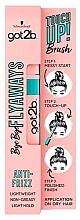 Parfumuri și produse cosmetice Mascara pentru păr - Schwarzkopf Got2b Bye Bye Flayaways Touch Up Brush