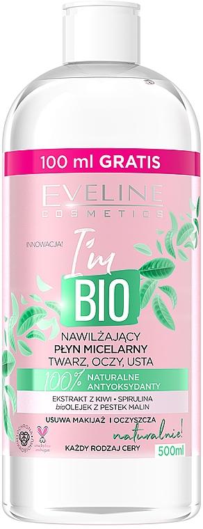 Apă micelară hidratantă - Eveline Cosmetics I'm Bio