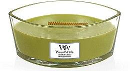 Parfumuri și produse cosmetice Lumânare aromată în suport de sticlă - WoodWick Candle Elipsa Apple Basket
