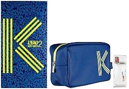 Parfumuri și produse cosmetice Kenzo L'Eau 2 Kenzo Pour Homme - Set (edt/50ml + bag)