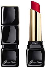 Parfumuri și produse cosmetice Ruj mat radiant, 16H de confort - Guerlain KissKiss Tender Matte Lipstick