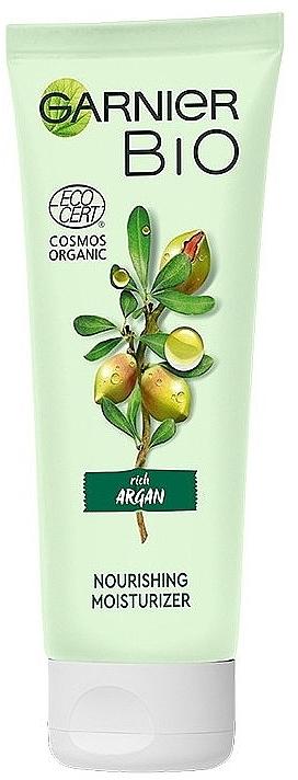 Питательный увлажняющий крем для лица - Garnier Bio Argan — фото N1