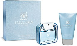 Parfumuri și produse cosmetice Trussardi Blue Land - Set (edt/50ml + sh/g/100ml)