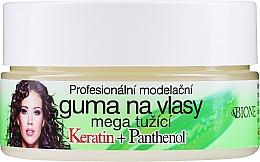 Parfumuri și produse cosmetice Ceară de păr - Bione Cosmetics Keratin + Panthenol Professional Ultra Strong Sculpting Rubber