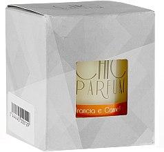 Lumânare parfumată - Chic Parfum Arancia E Cannella Candle — Imagine N2