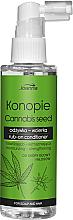 Parfumuri și produse cosmetice Balsam cu semințe de cânepă pentru păr - Joanna Cannabis Seed Moisturizing-Strengthening Rub-on Conditioner