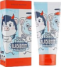 Parfumuri și produse cosmetice Mască cu hidrogen pentru curățarea porilor - Elizavecca Hell-Pore Bubble Blackboom Pore Pack