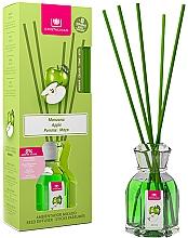 """Parfumuri și produse cosmetice Difuzor aromatic """"Măr"""" - Cristalinas Reed Diffuser"""