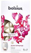 "Parfumuri și produse cosmetice Ceara aromatică ""Trandafir și chihlimbar"" - Bolsius True Moods Pure Romance Rose & Amber"