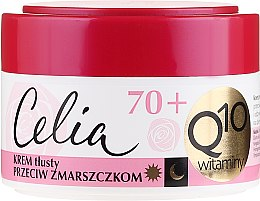 "Parfumuri și produse cosmetice Cremă antirid ""Vitamina"" - Celia Q10 Face Cream 70+"