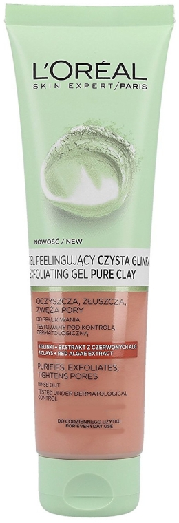 Gel pentru față - L'Oreal Paris Skin Expert Exfoliating Gel — Imagine N1