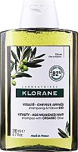 Parfumuri și produse cosmetice Şampon - Klorane Vitality Age-Weakened Organic Olive Hair Shampoo
