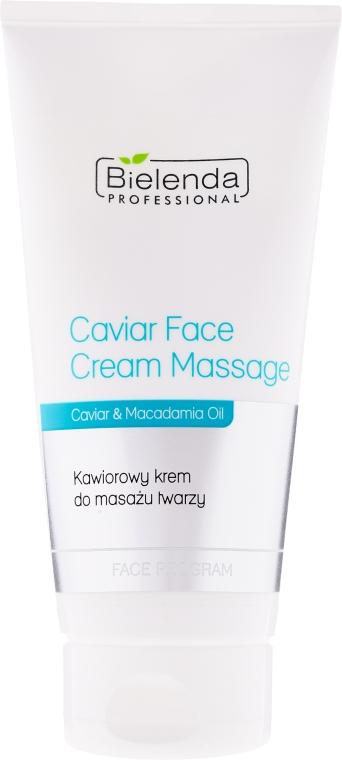 Cremă pentru masaj facial cu caviar - Bielenda Professional Face Program Caviar Face Cream Massage